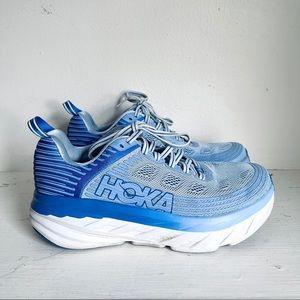 Hoka One One Bondi 6 Running Shoes In Blue
